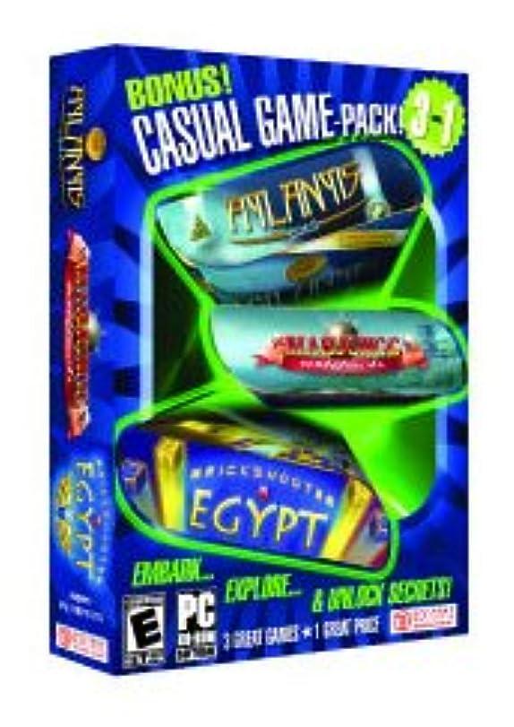 通知する合併症収束するCasual Variety Pack (Mahjongg Artifacts, Brickshooter Egypt, Atlantis Quest) (輸入版)