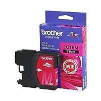 (まとめ) ブラザー BROTHER インクカートリッジ マゼンタ 大容量 LC16M 1個 【×3セット】