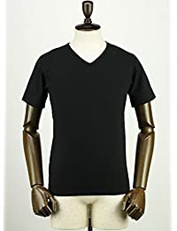 SWEEP!! スウィープ!! メンズ コットン 半袖 VネックTシャツ V-NECK BLACK (ブラック)