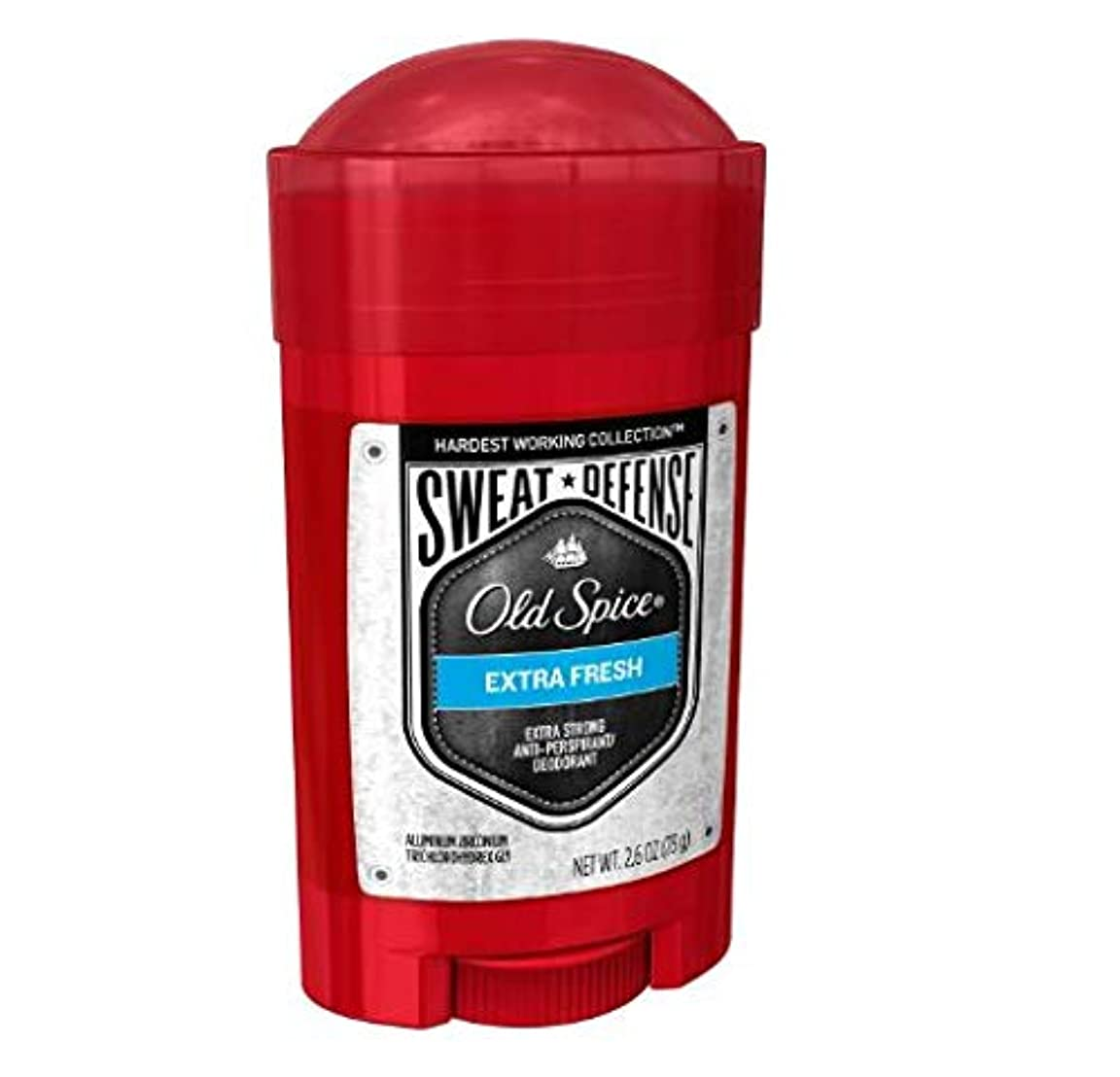 Old Spice Hardest Working Collection Sweat Defense Extra Fresh Antiperspirant and Deodorant - 2.6oz オールドスパイス ハーデスト...
