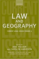 Law and Geography: Current Legal Issues 2002 Volume 5【洋書】 [並行輸入品]