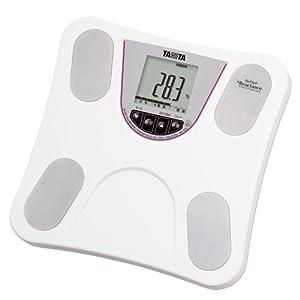 タニタ 体重・体組成計 ホワイト BC-754-WH 乗るピタ機能で簡単測定