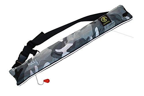 ライフジャケット ベルト(手動膨張)迷彩柄(白)