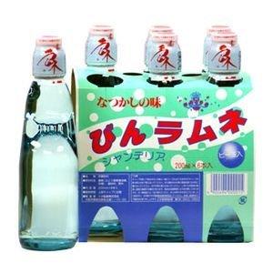 ラムネ シール付 瓶 200X6