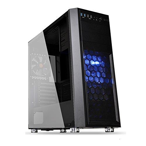 UフォレストPC ハイスペックゲーミングデスクトップパソコン【CPU Core i7 8700/メモリ16GB/SSD480GB/HDD2TB/DVDマルチドライブ搭載/GTX1060 6GBメモリー版/OS Windows10pro】 (【Window10単体モデル】)