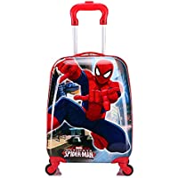 MOREFUN Frozen 18 Inch Luggage Hard Side Spinner Suitcase Carry on Luggage Rolling