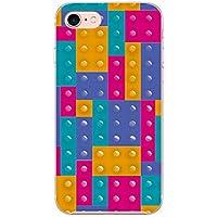 (カリーナ) Carine iPhoneXSMax 薄型 クリア スマホケース スマホカバー sc413(E) レゴブロック 風 アイフォンXSマックス スマートフォン スマートホン 携帯 ケース アイホンXSマックス ハード プラ スマフォ カバー