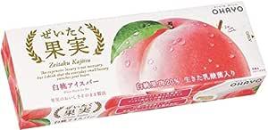 オハヨー乳業 ぜいたく果実 白桃アイスバー80ml×20個