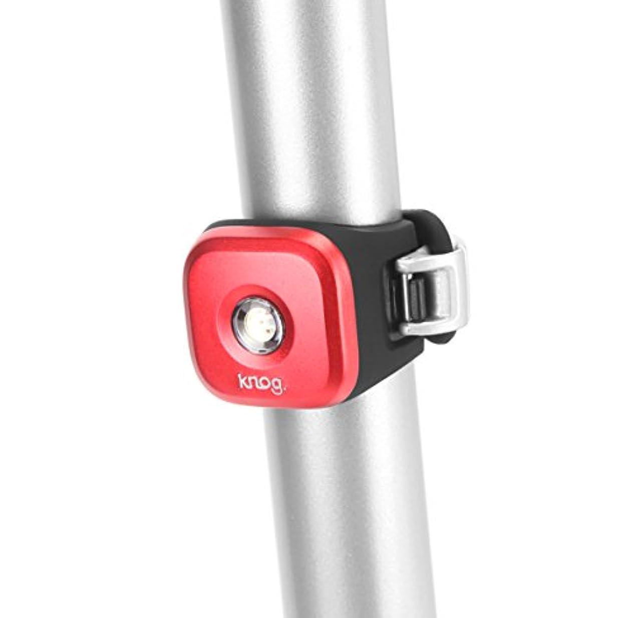 椅子直面するナラーバーKnog - Blinder 1 Standard Red Rear