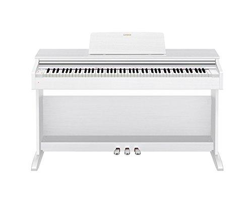 カシオ 電子ピアノ ホワイトウッド調  椅子&ヘッドホン&楽譜集付き  CASIO CELVIANO セルヴィアーノ  AP-270-WE A