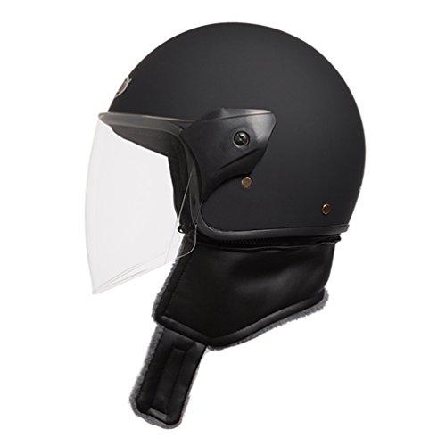 ジェットヘルメット 襟巻付き