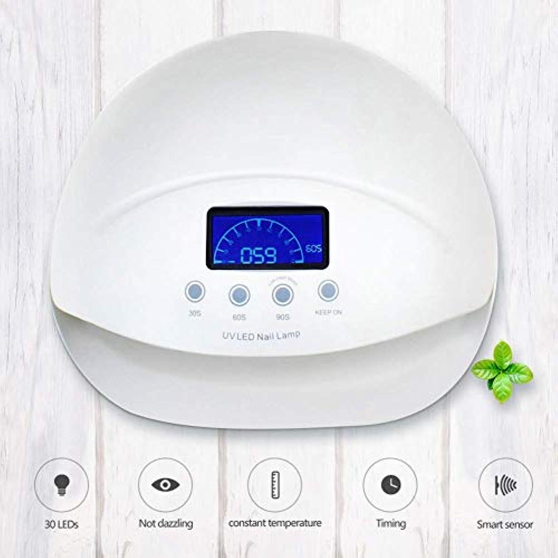 多くの危険がある状況ピストンチキン50W UV LEDネイルランプ、UVセンサ28 UVランプビーズ無痛赤外線赤外線センサ