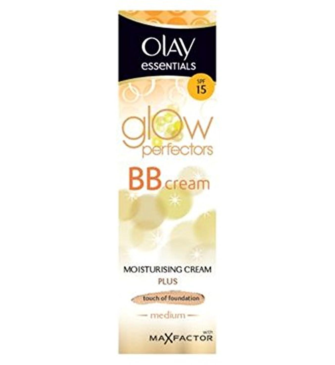 ベール上記の頭と肩圧縮着色保湿50ミリリットルを完成オーレイ完全なBbクリームSpf15スキン - 中 (Olay) (x2) - Olay Complete BB Cream SPF15 Skin Perfecting Tinted Moisturiser...