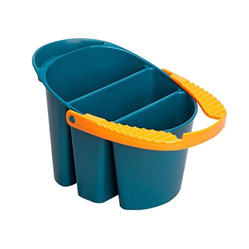 筆洗器 2L ( water color multi-use water buckets ) [ 筆洗い バケツ 洗浄 専門家用 プロ用 スケッチ旅行 アーティスト用 画材 絵画 水彩画 透明水彩絵具 アクリル絵具 透明 アクリル 水彩絵の具 えのぐ ]