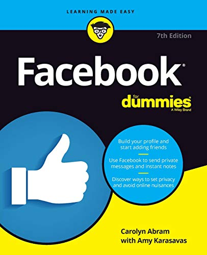 Download Facebook For Dummies, 7th Edition 1119453860