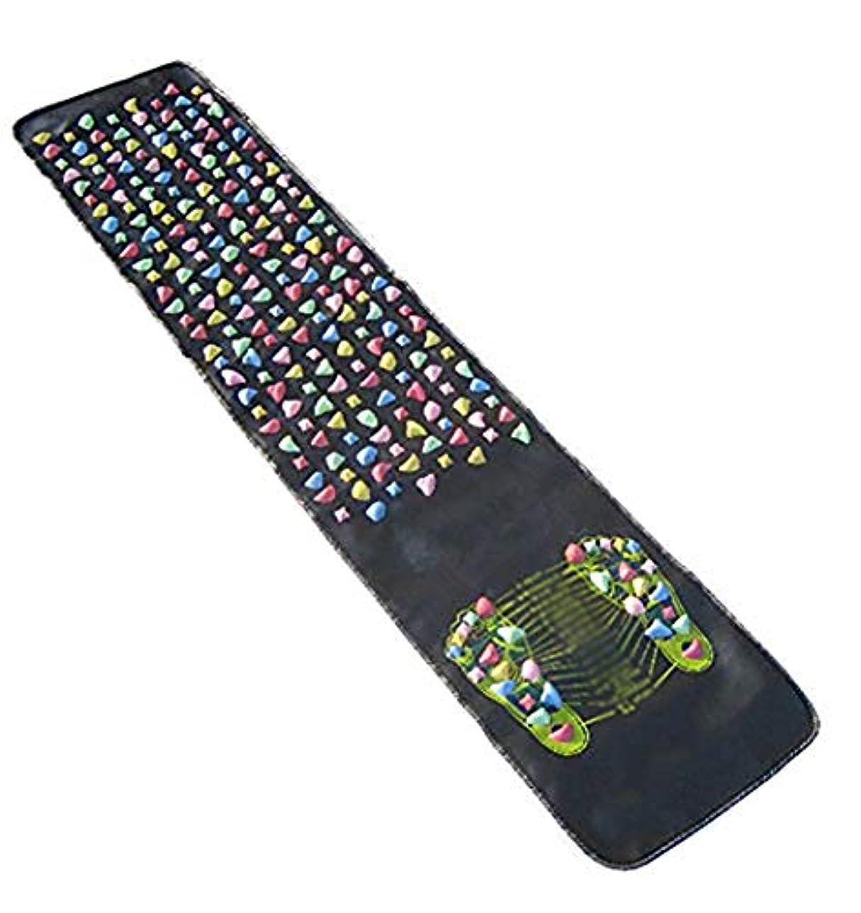 活気づく同一性光の健康ボード ウォーキングマット足つぼ マット フットマッサージマット 足裏マット マッサージ ツボ刺激 フットケア 折りたたみ