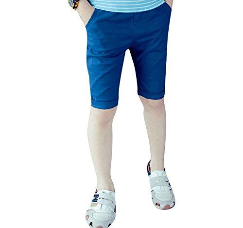 子供服 男の子 女の子 ハーフパンツ 夏 薄手 カジュアル シンプル 120cm~ 全6色 (120...