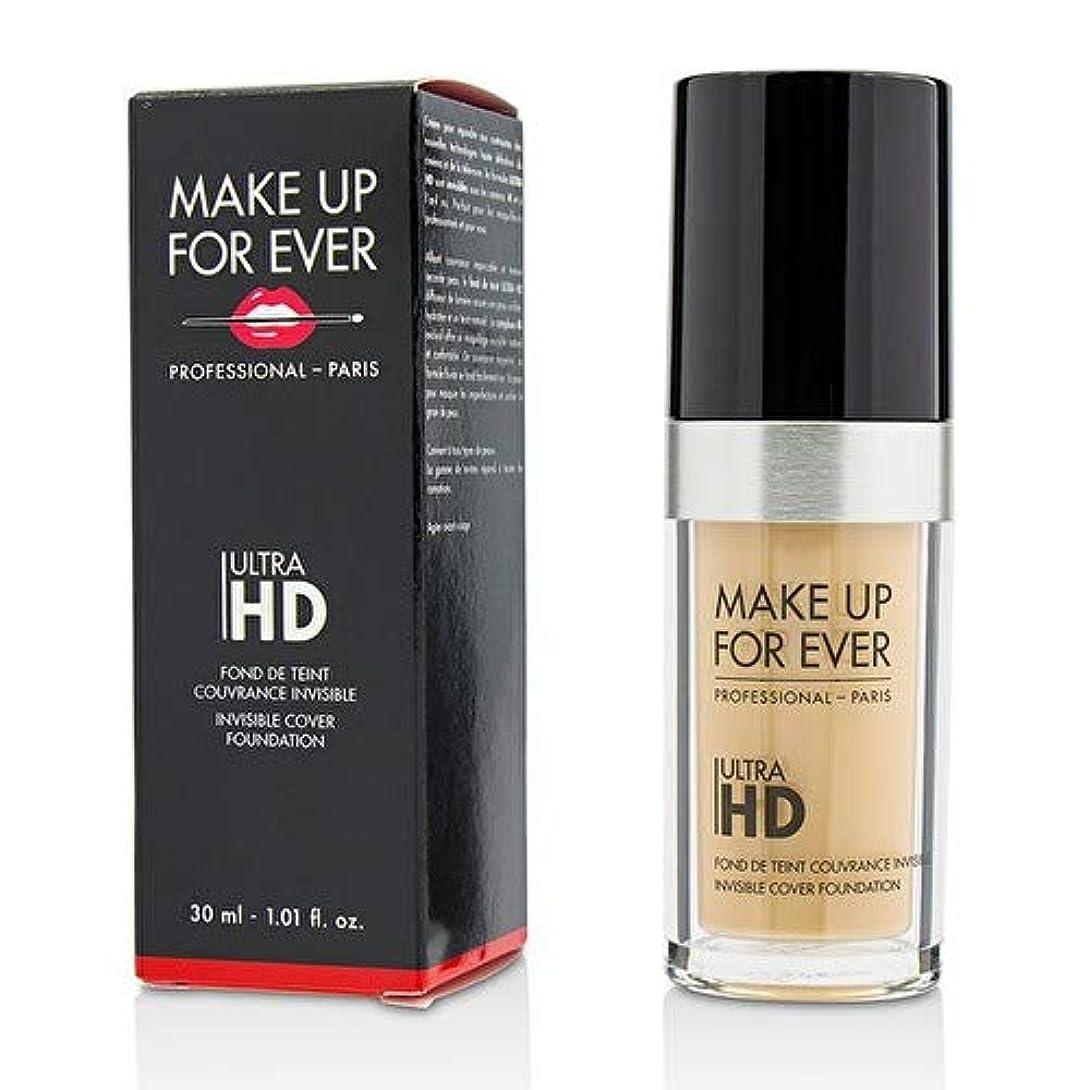 ゴールドひも花瓶メイクアップフォーエバー Ultra HD Invisible Cover Foundation - # Y235 (Ivory Beige) 30ml/1.01oz並行輸入品