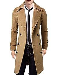 (SGL Collection) コート メンズ ロングコート チェスター ダブルブレスト スリム 3色選択 S ~ XXL 【 日本向け オリジナル サイズ仕様 】