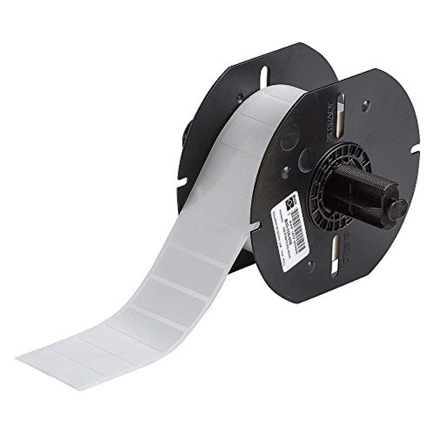 どれ竜巻なにBrady B33-155-492 Label Freezerbondz II Polyester 0.600 H x 1.625 W White 1500/Roll(Pack of 1500) [並行輸入品]
