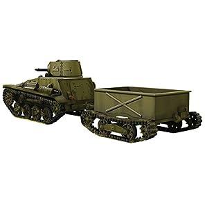 IBG 1/72 日本軍 九四式軽装甲車 前期型 牽引トレーラー2タイプ付 プラモデル PB72045