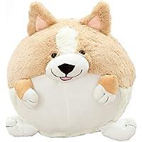 (viviwo)抱きまくら ぬいぐるみ コーギー ラウンド形 犬 可愛い 昼寝枕 プレセント (50cm)