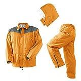 マック レインコート レインハードプラス オレンジ 4L AS-5500