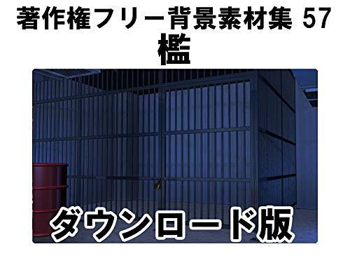 ウエストサイド 著作権フリー背景素材集57「檻」 Win対応 ダウンロード版