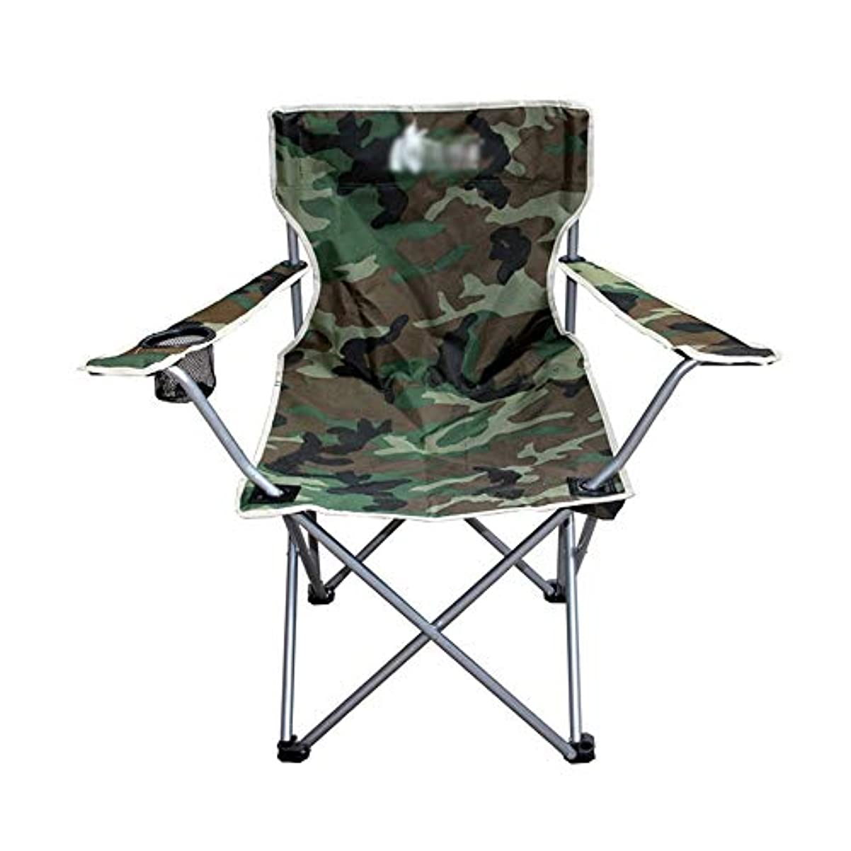 傷つける作動するシネウィ大きい折る腰掛けの屋外の肘掛け椅子の倍の生地の折る椅子の迷彩のあと振れ止めの椅子80×40×49cm GW