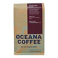OCEANA COFFEE Coffee Sumatra Tana Karo Whole Bean, 12 OZ