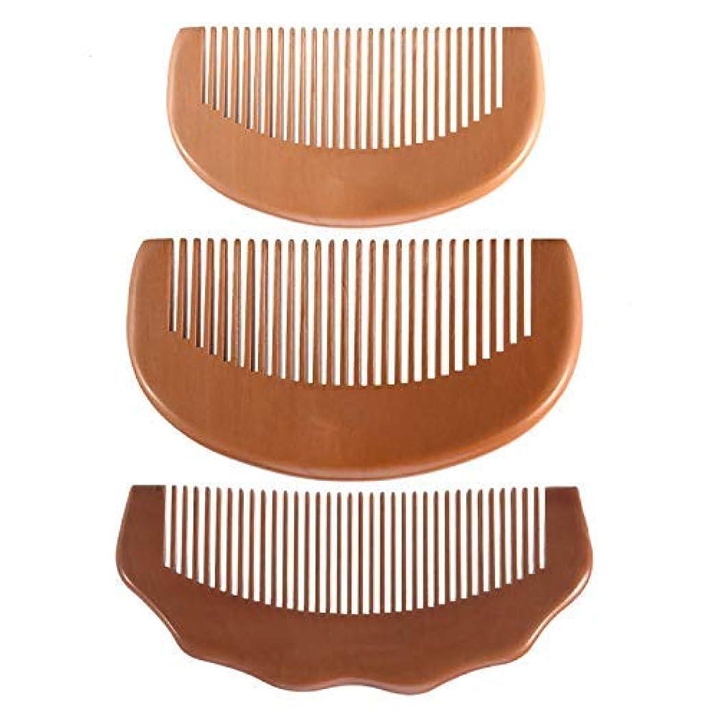 歯科の論争寸法Feeko Comb, Natural Anti Static Wooden Comb for Wrapping and Styling Wet Or Dry Curling Thick Wavy Or Straight...