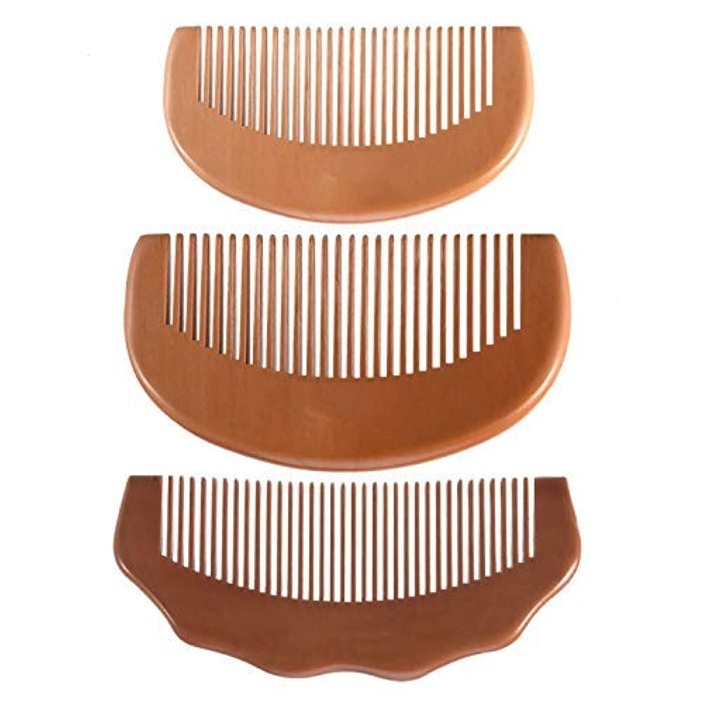 サーキットに行く判定区Feeko Comb, Natural Anti Static Wooden Comb for Wrapping and Styling Wet Or Dry Curling Thick Wavy Or Straight...
