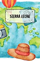 Sierra Leone: Ruled Travel Diary Notebook or Journey  Journal - Lined Trip Pocketbook for Men and Women with Lines