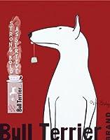 ブルテリアTea by Ken Bailey犬ペット動物印刷ポスターLG 11x 14
