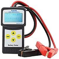 カーバッテリーチェッカー バッテリー テスター 12V cca対応 自動車バッテリー状態検査 日本語対応 メーカー年間保証