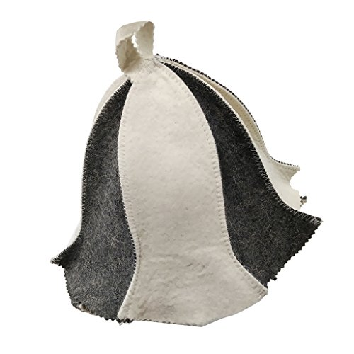 ノーブランド品 全12種選択可 ウールフェルト 民族風 古典的 帽子 頭 保護 刺繍 ユニセックス - #4