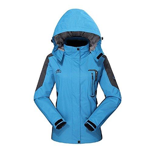 Diamond Candy アウトドア ジャケット 保温 防寒 防水 防風 超軽量 UVカット スキー 山登り 男女兼用