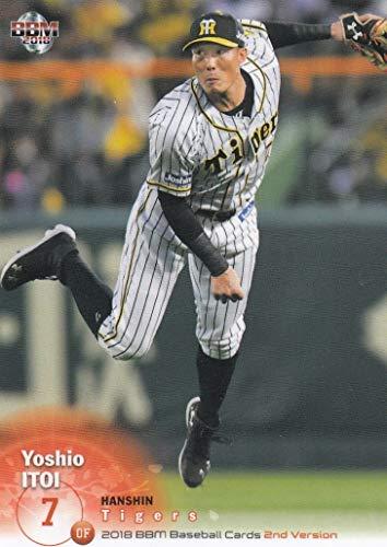 2018 BBM ベースボールカード 2ndバージョン 514 糸井 嘉男 阪神タイガース (レギュラーカード)