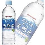 ポッカサッポロ 富士山麓のおいしい天然水 (530ml×24本)×2ケース