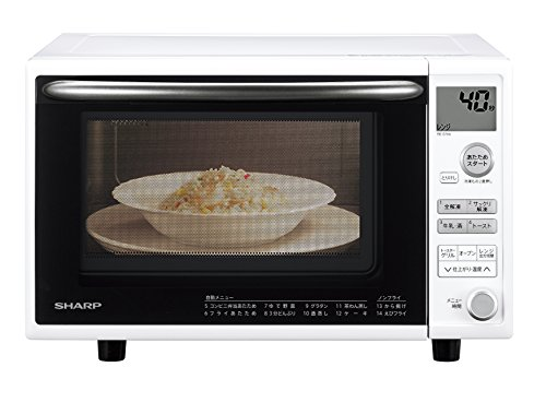 SHARP (シャープ) オーブンレンジ 1段調理 ターンテーブル 20L ホワイト RE-S70A-W B07421SMVV 1枚目