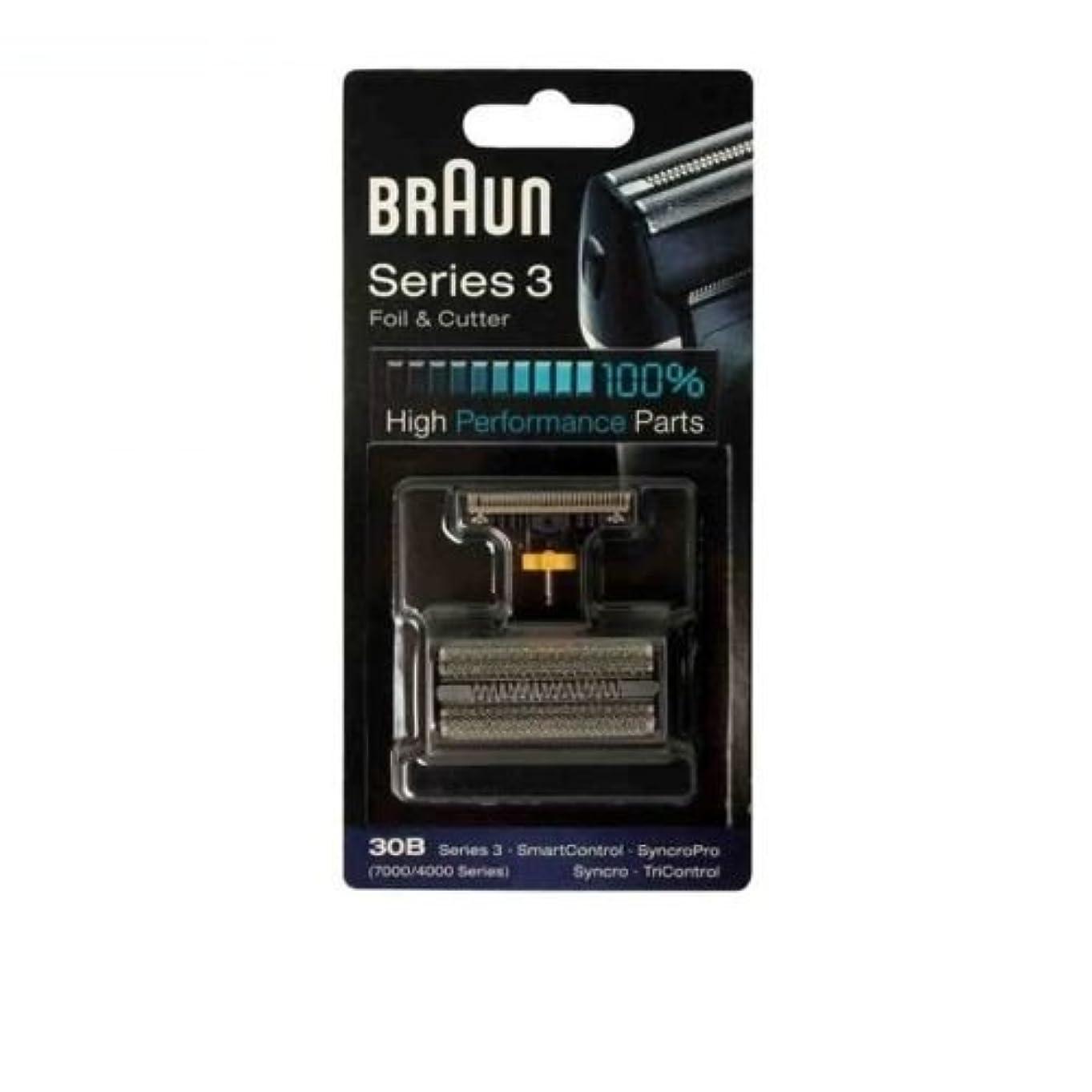小競り合い男らしい重量Braun 30B コンビ 30B フォイルカッターの交換パック(4000分の7000シリーズ) [並行輸入品]