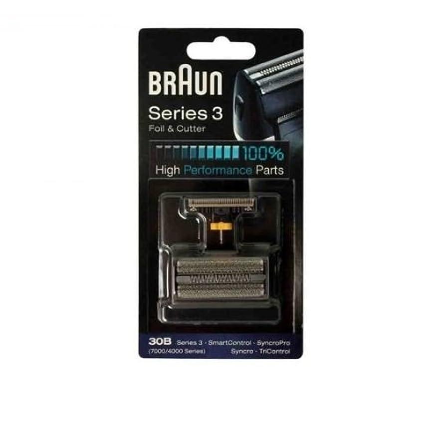 ミント災害十年Braun 30B コンビ 30B フォイルカッターの交換パック(4000分の7000シリーズ) [並行輸入品]