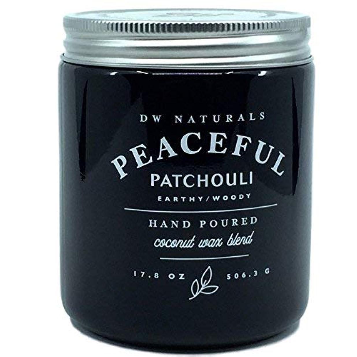 メトロポリタン壁紙スリップDW Naturals Peaceful Patchouli Earthy Woody Hand Poured Coconut Wax Blend Candle 17.8 Oz [並行輸入品]