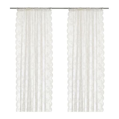 RoomClip商品情報 - ★ALVINE SPETS / カーテン2枚組 / オフホワイト[イケア]IKEA(40171863)