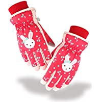 Azarxis Kid Snow Ski Winter Gloves Children Waterproof Cold Weather Warm Mittens