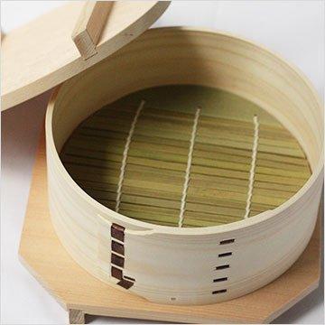 わっぱ せいろ 小 5寸15cm 足立茂久商店 日本製 レンジ使用可能