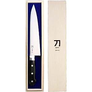 ナガオ 包丁 210mm 青紙二号鋼 刀-カタナ- 霹靂
