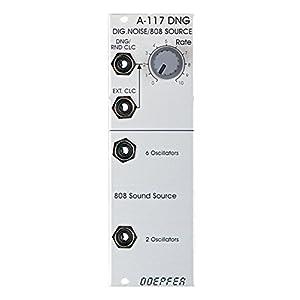 Doepfer デジタルノイズ/ランダムクロック/TR-808オシレーター A-117 DNG / TR808 Digital Noise / Random Clock / TR808 Source ユーロラック モジュラー シンセサイザー