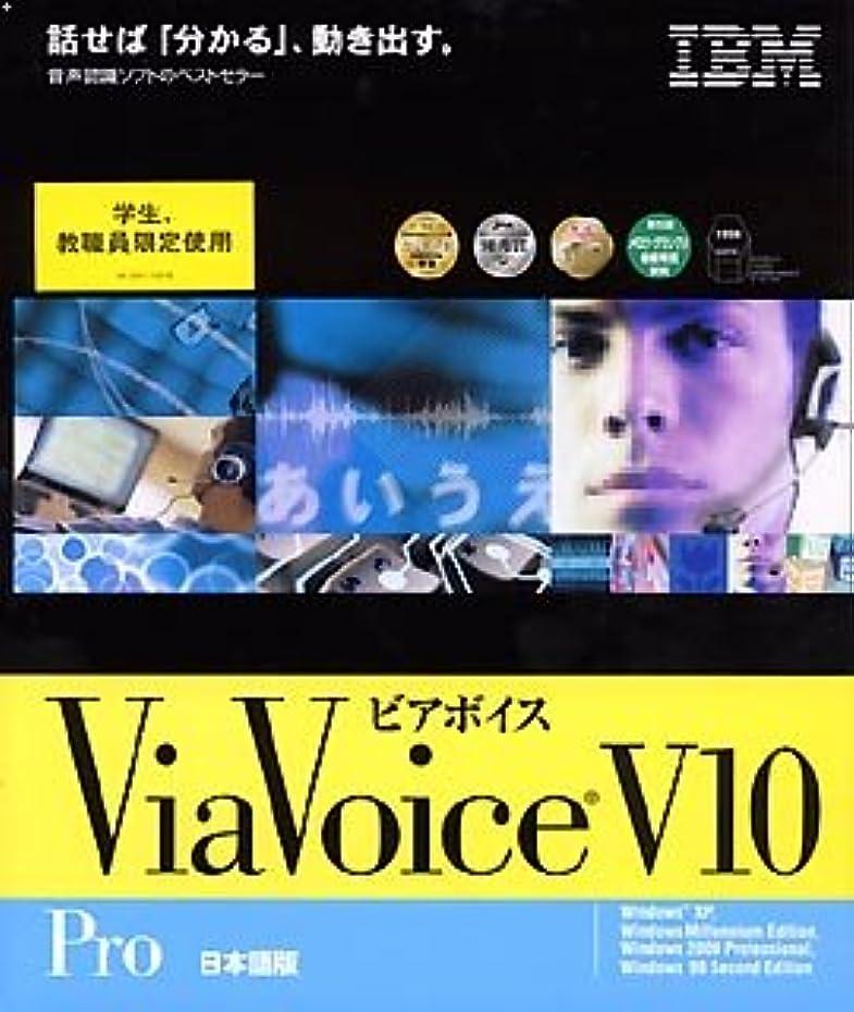 模索ライフル材料ViaVoice for Windows Pro V10 学割パック 日本語版