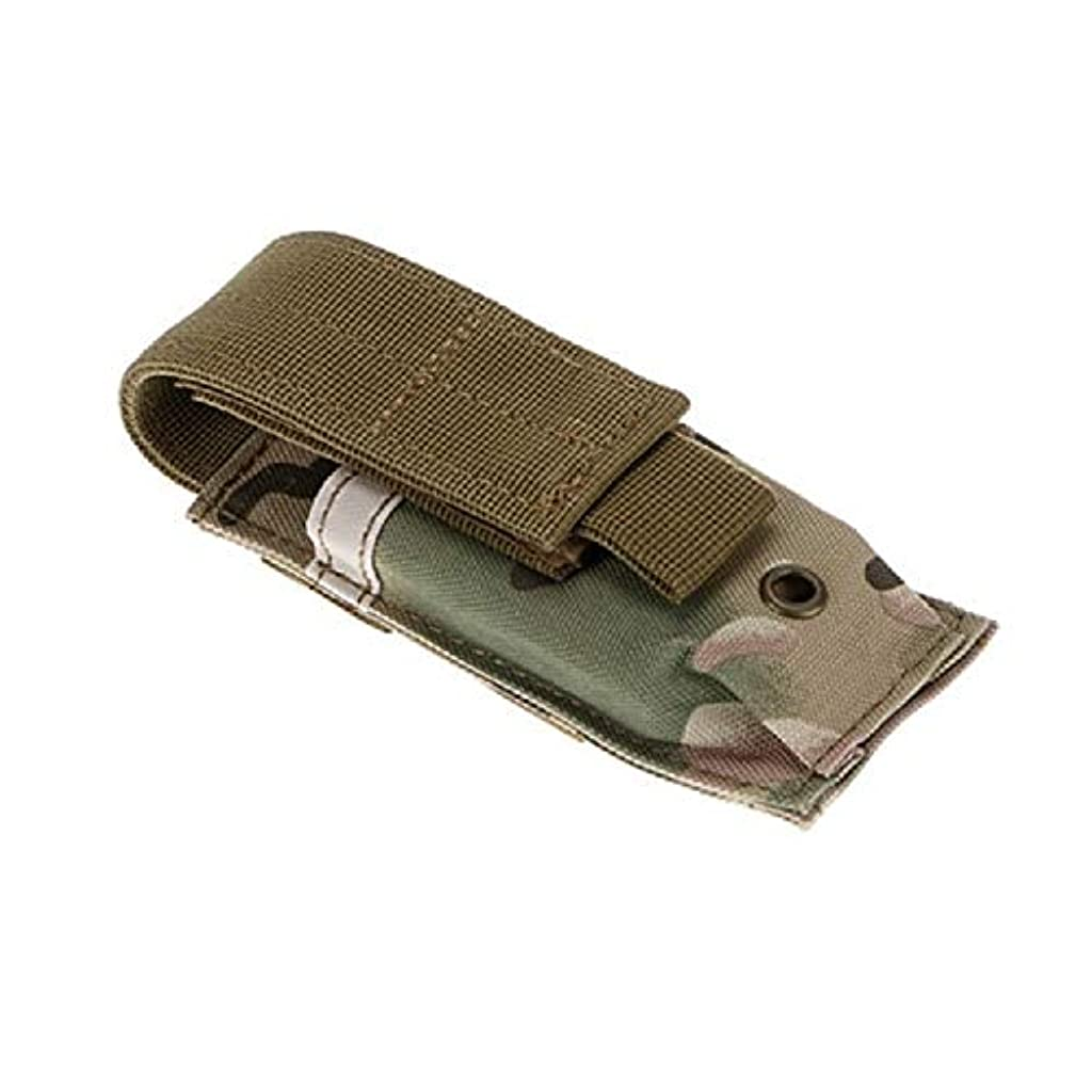 包括的幼児マルコポーロ屋外MOLLEシステム戦術バッグ多機能バッグ戦術装備バッグバッグ付き (Color : B, Size : 14*5.5*4cm/5.5*2.2*1.6in)